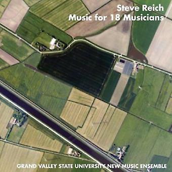S. Reich - Steve Reich: Music for 18 Musicians [CD] USA import