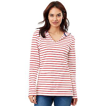 Joules Womens Lisa Relaxed Fit Nautical Supersoft Hoodie