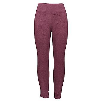 Cuddl Duds Leggings Fleecewear Stretch Purple A342094