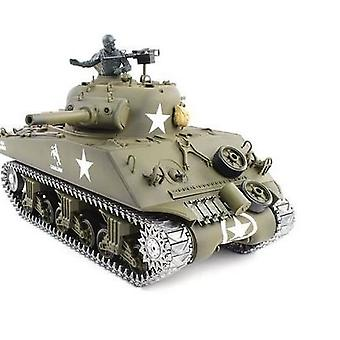 1/16 M4A3 Sherman RC Panzer mit Rauch, Sound und BB Gun - Metal Upgrade Pro-Version