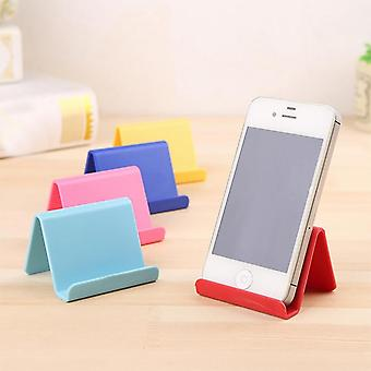 Mini, Portable And Fixed Stand For Mobile Phone And Remote Control