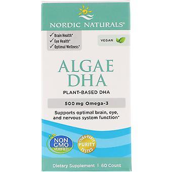 Nordic Naturals, Algues DHA, 60 Gels Mous