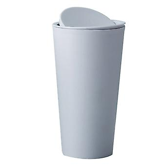 Desktop-uri Plain Color Plastic Trash Can Blue