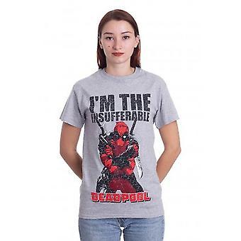 Deadpool Adults Unisex Im The Insufferable Design T-Shirt