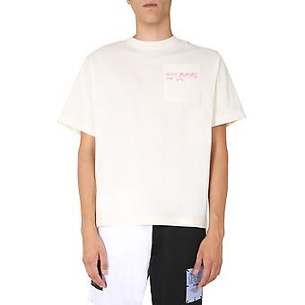 Mcq Door Alexander Mcqueen 624722rpj339512 Men's White Cotton T-shirt