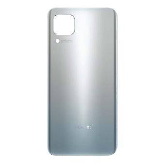 Replacement Battery Cover for Huawei P40 Lite Back Cover - Silver