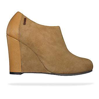 G-Star Raw Gable Fulton Womens Leather Wedges / Shoes - Tan