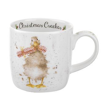 Koninklijke Worcester Wrendale Christmas Cracker Goose één mok