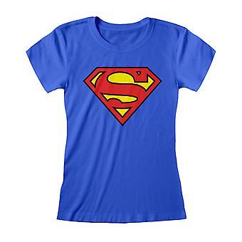 Superman Womens/Ladies Logo T-Shirt