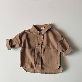 Baby Mari Pocket Camasi, Coat Jacket Haine Outerwear