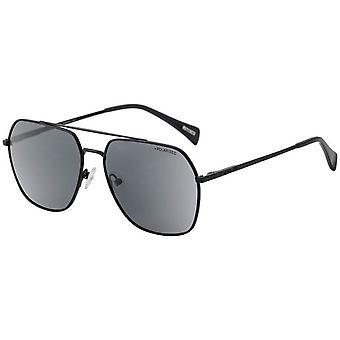 Dirty Dog Magnitude Polarised Sunglasses - Matte Black/Grey