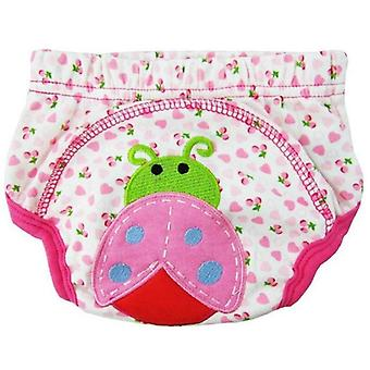 Cotton Cartoon Training Pants - Reusable Diaper / Underpants For Infant