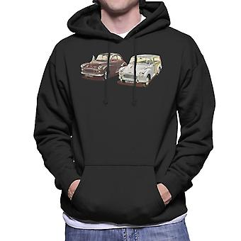Morris Minor Classic British Motor Heritage Men's Hooded Sweatshirt