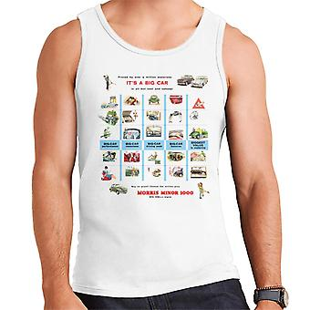 Morris Advert Design British Motor Heritage Men's Vest