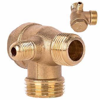 Verifique a ferramenta do conector de rosca masculina de lacor condutor de laque da válvula para compressor de ar