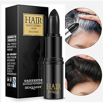 Instant Gray Root Coverage Hair Color - Cream Stick For Temporary Cover Up