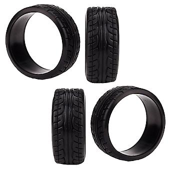 RC 1:10 RC Car On-Road Racing Car Plastic Drift Tyre Grip 12 MM Hex Pack of 4