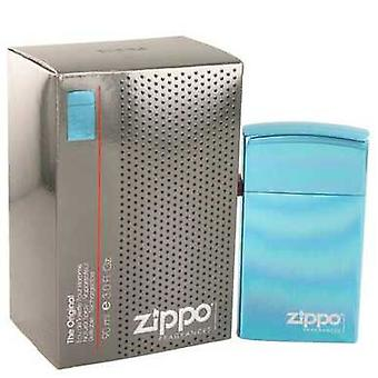 Zippo Blue By Zippo Eau De Toilette Refillable Spray 3 Oz (men) V728-491520