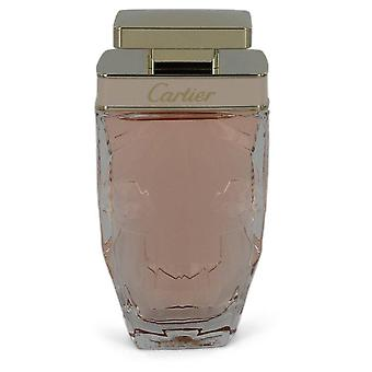 Cartier La Panthere Eau De Toilette Spray (Tester) By Cartier 2.5 oz Eau De Toilette Spray