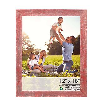 12x18  Rustic Red Picture Frame