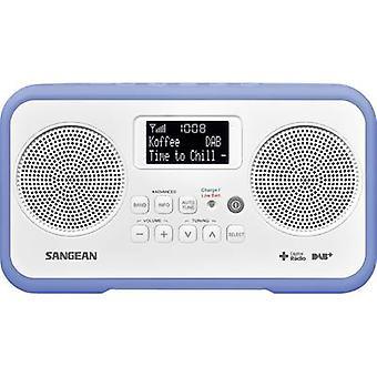 Sangean TRAVELLER 770 Desk radio DAB+, DAB, FM DAB+, FM Keylock Blue