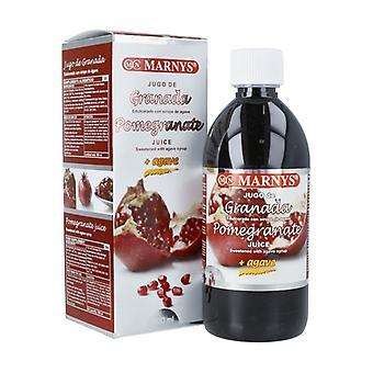 Granaattiomena ja Agave Juice 500 ml