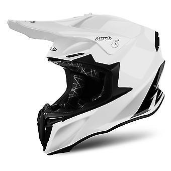 Airoh Twist Motorcycle Helmet Replacement Peak White PEAK ONLY