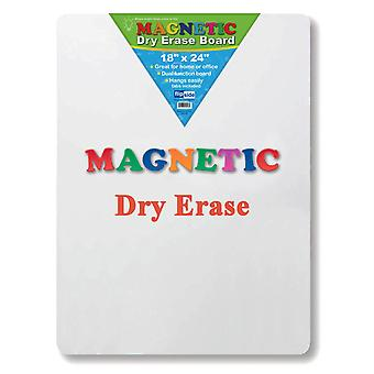 """Magnetic Dry Erase Board, 18"""" X 24"""""""