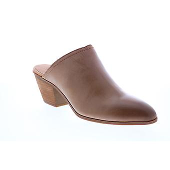 Frye & Co. Jacy Mule  Womens Brown Leather Mules Heels Shoes