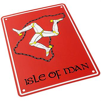 Bike It Aluminium Parking Sign - Isle Of Man