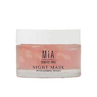 Mia Kosmetika Paris Nattmask med Jasminblad 50 ml för kvinnor