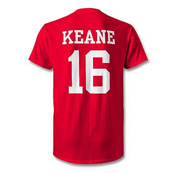 Roy Keane Man Utd Legend Hero T-Shirt