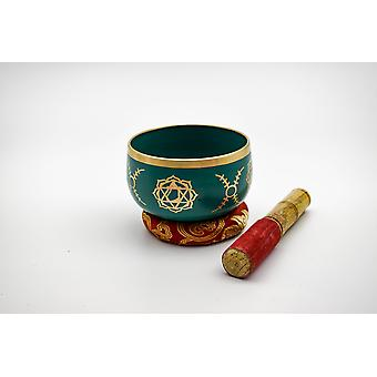 Heart Chakra Singing Bowl With Beater - Anahata