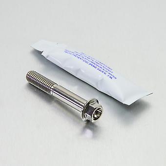 Kit de perno de montaje en pinza de freno trasero Pro Bolt Titanium (1 paquete) TIRBMON50