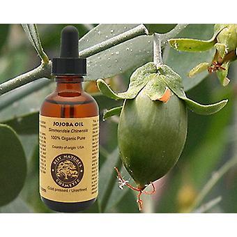 100% puhdasta orgaanista Neitsyt Jojoba -öljyä. Luonnollinen