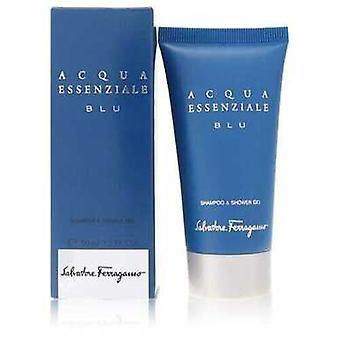 Acqua Essenziale Blu By Salvatore Ferragamo Shower Gel 1.7 Oz (men) V728-552835