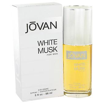 Blanco de Jovan Musk Eau De Cologne Spray por Jovan 3 oz Eau De Cologne Spray