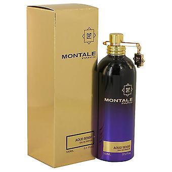 Montale Aoud Sense Eau De Parfum Spray (Unisex) By Montale 3.4 oz Eau De Parfum Spray