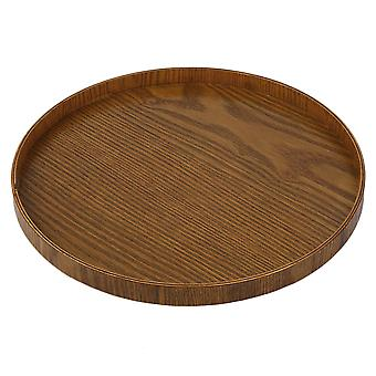 Original Tableware Wooden Hand-made Natural Serving Tray 21cm/30cm