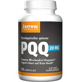 "Jarrow פורמולות PQQ (quinone Pyrroloquinoline) 20 מ""ג כובעים 30"