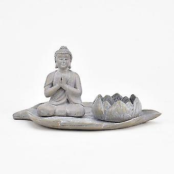 Widdop & Co. Buddha & Lotus Tealight Holder