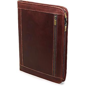 Handmade Genuine Leather Business Portfolio by Jaald | Professional Organizer Men  Women