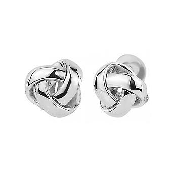 Traveller Clip earrings Rhodium plated - 157340