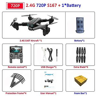 Fodabel Profissional Drone With Camera, Hd Selfie,gps, Wifi, Wide Angle, Rc