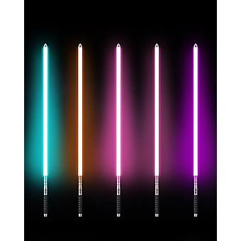 Luke Light Saber Force Fx Heavy Dueling Rechargeable Color Changing Sound Foc