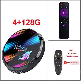 H96 max x3 4gb 128gb 8k amlogic s905x3 smart tv box android 9.0 dual wifi 1080p 4k youtube set top box pk x96air x3 a95x h96max