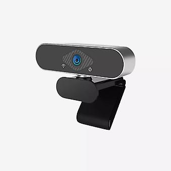 Usb Webcam, Live Broadcast Camera, Ultra Wide Angle, Auto Foucus,