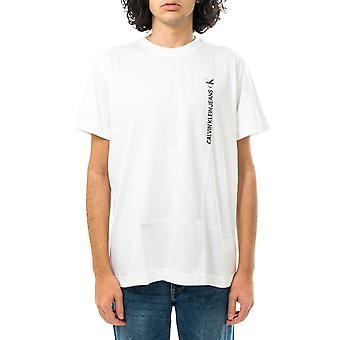 Calvin Klein camiseta masculina ckvertical back graphic tee j30j318303.yaf