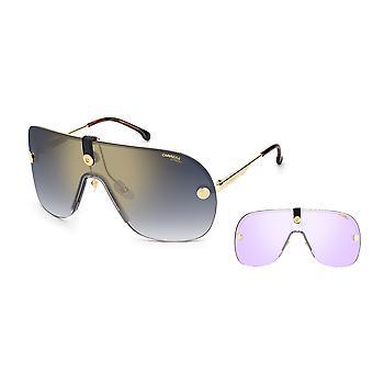Carrera EPICA II LKS/1V Gold Blue/Blue Gradient Gold Mirror Sunglasses
