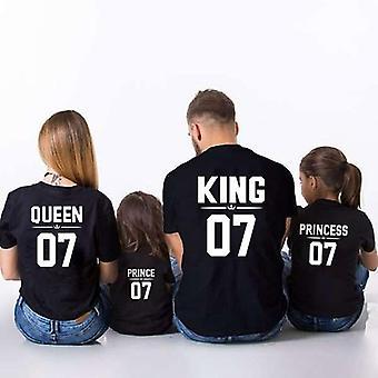 Perhe-T-paita, Perheasut Isä-äiti T-paita